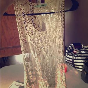 Maurice's lace tank top